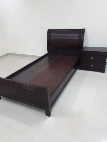 For sell single bed and side table