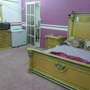 Family accommodation fully furnitured