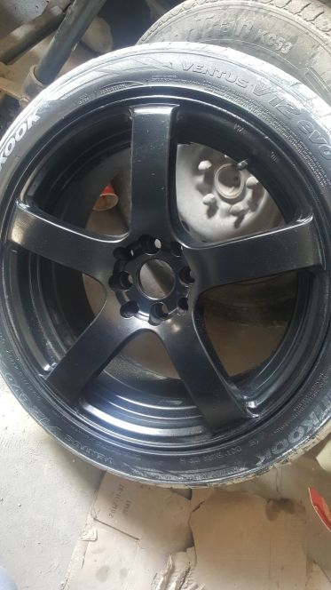 Rims with tyres 17