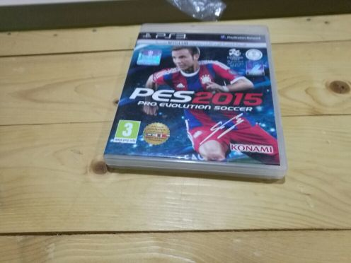 Barely used pes 2015