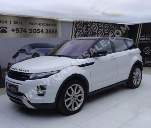 Land rover Evoque 2012 dynamic plus