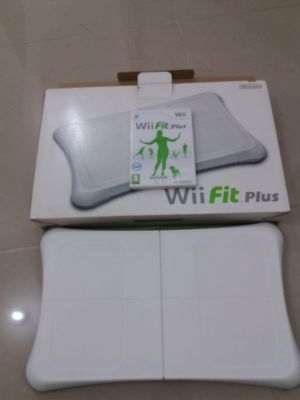 wii console and wii fir board