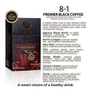Coffee 8&1 with Stevia