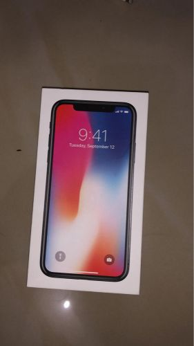 iPhone x256 black