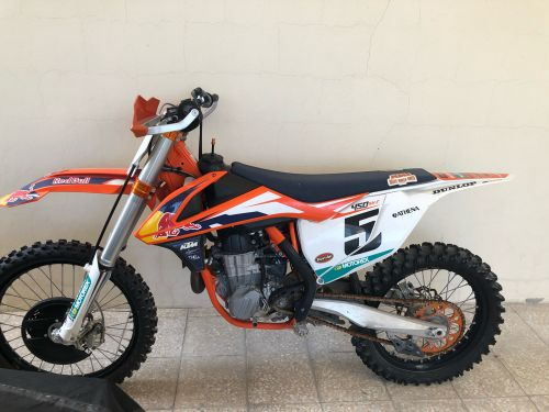 Ktm Red Bull edition 450sx-f