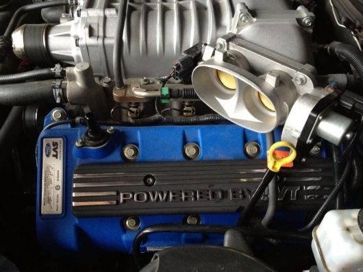 shelby GT500 supercharger original