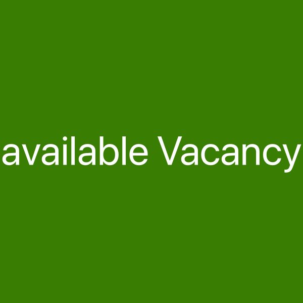 Available Vacancy