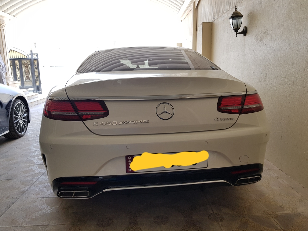 2018 S450 AMG COUPE (First in Qatar)