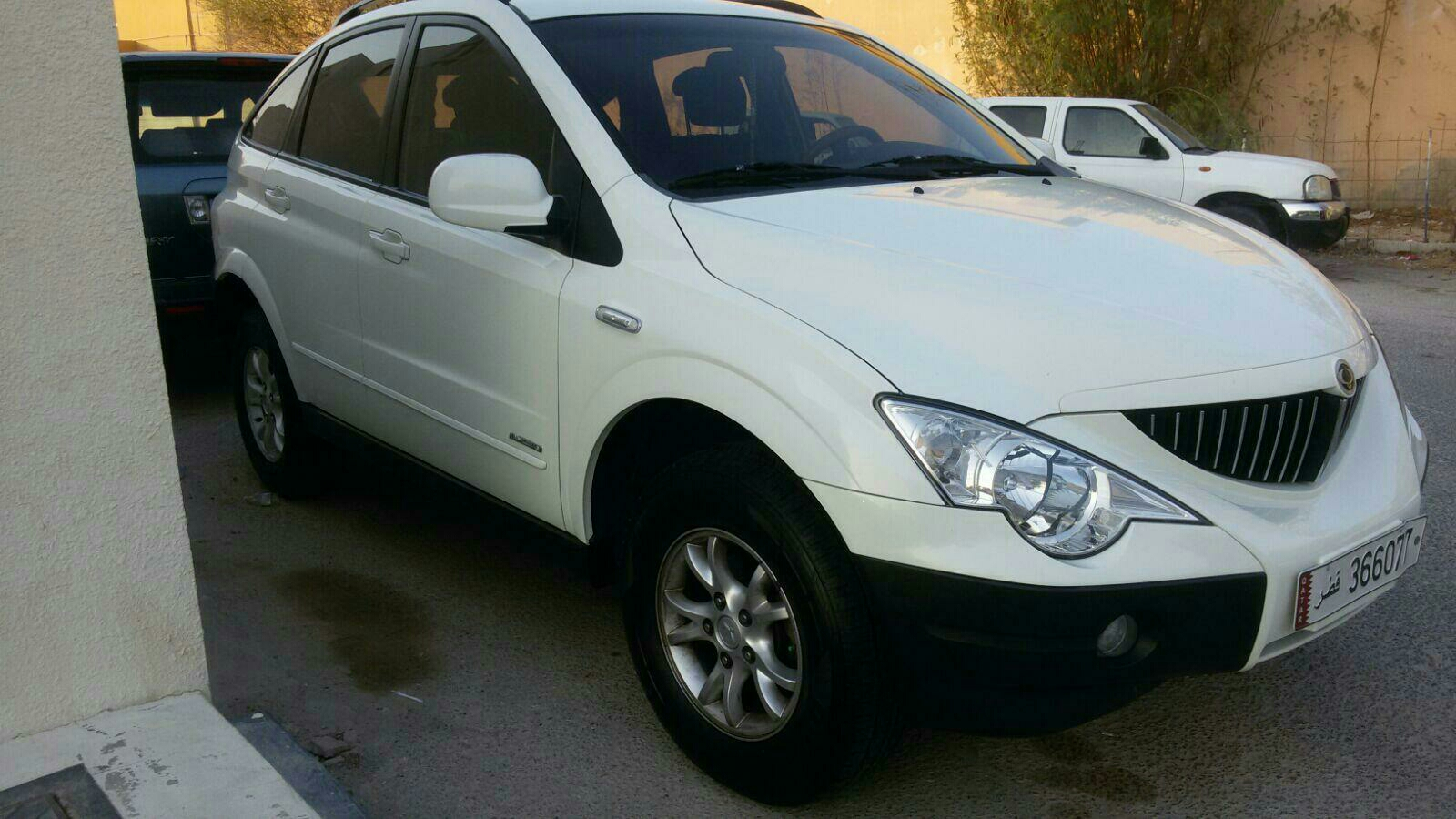 Ssangyong Actyon 2010 model