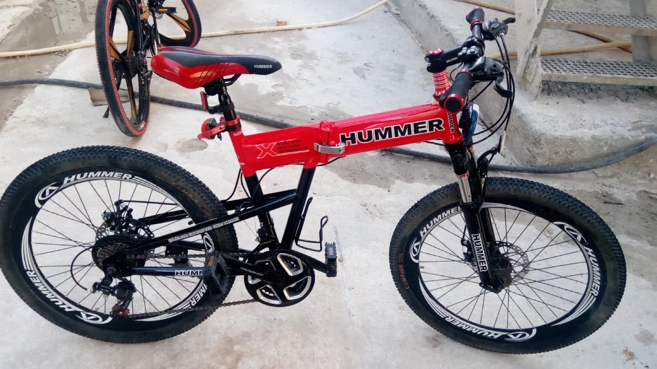 "Hummer Foldable 24""Bicycle mint conditio"
