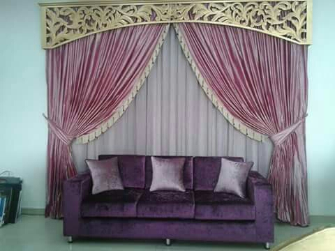 carpet wallpaper sofa curtains wood floo