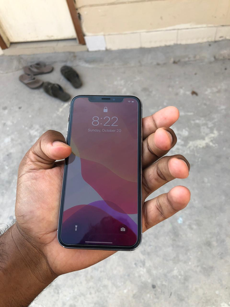 iPhone X , 256 GB , Silver Color