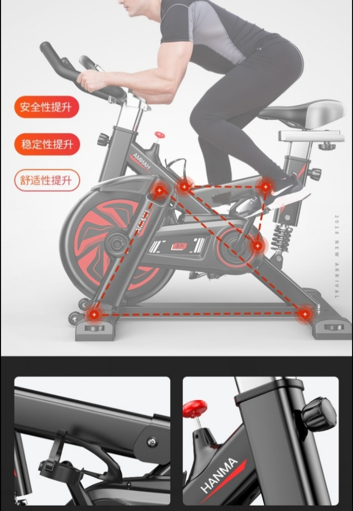 Electronic Fitness bicycle