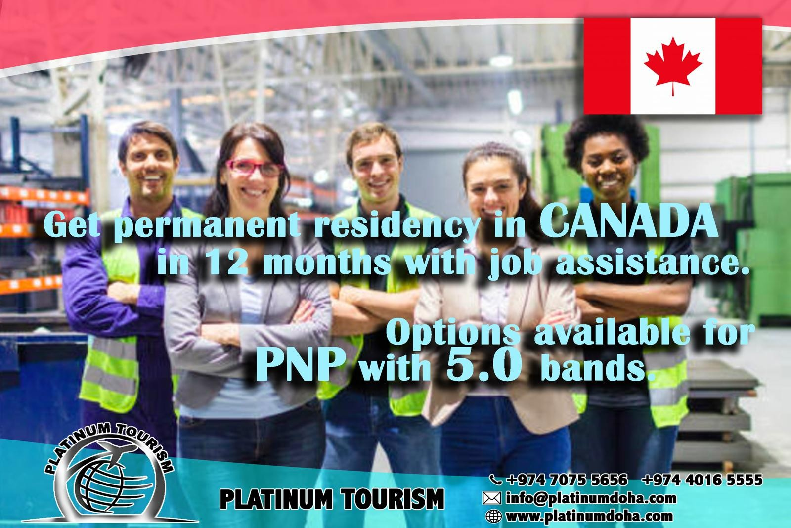 Apply Canada Work visa with us