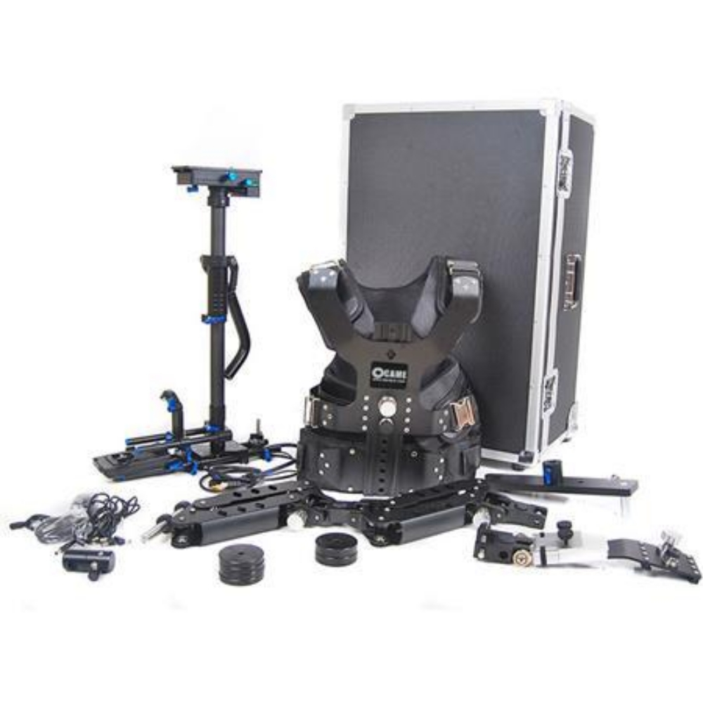CAME-TV 5.5-33lbs Pro Camera steadicam Video Carbon Stabilizer