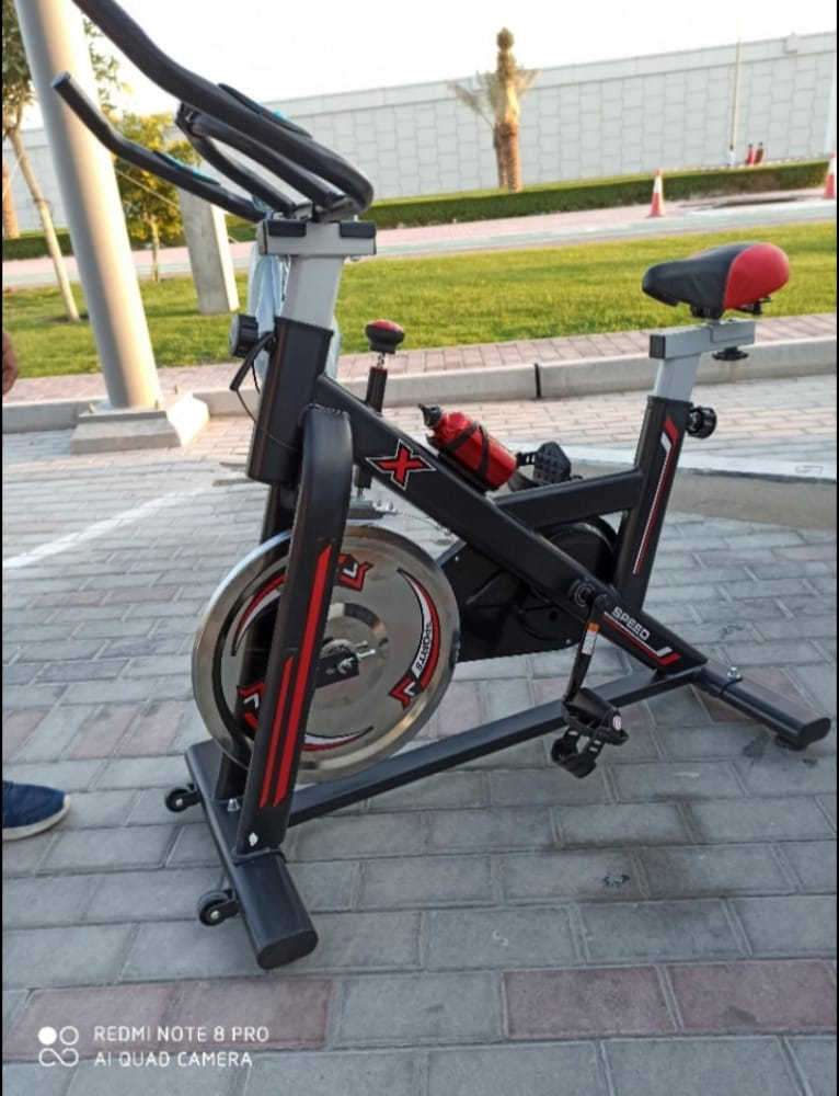 spin bike for sale available in Doha