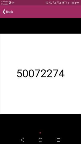 Vodafone fancy number 500 7227 4  call o