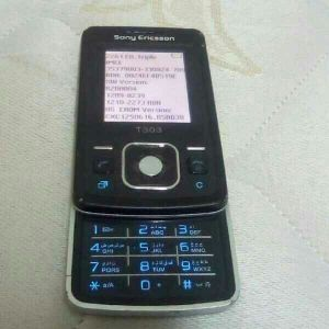 old mobile Sony Ericsson t303