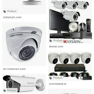 CCTV camera complete solution