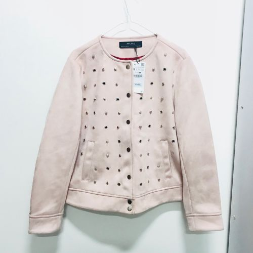 Zara Suede Studded Jacket