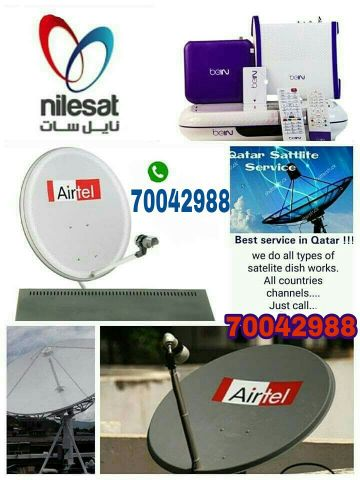 I do any satellite dish tv work & Dish,