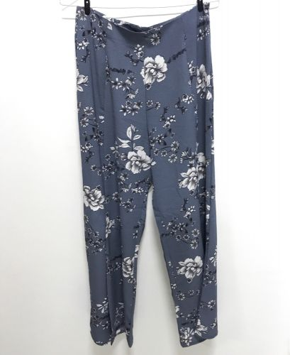 Loose patterned pants