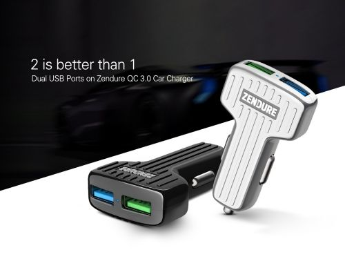 Zendure Car Charger with QC 3.0