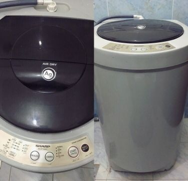Sharp washing machine