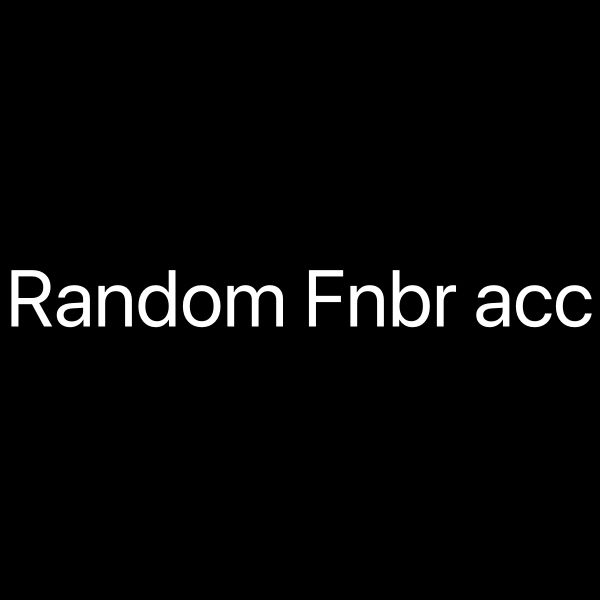 Random fortnite accounts