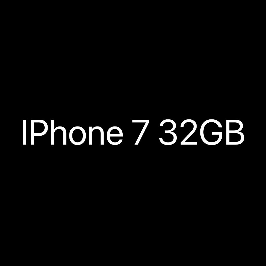 Required IPhone 7 32GB
