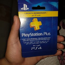PS 4 Membership Card for 3 Months...