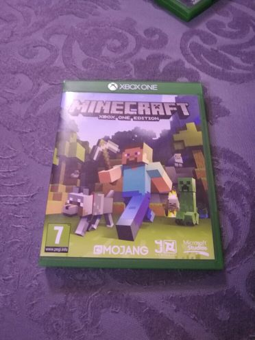 minecraft disc new xbox one