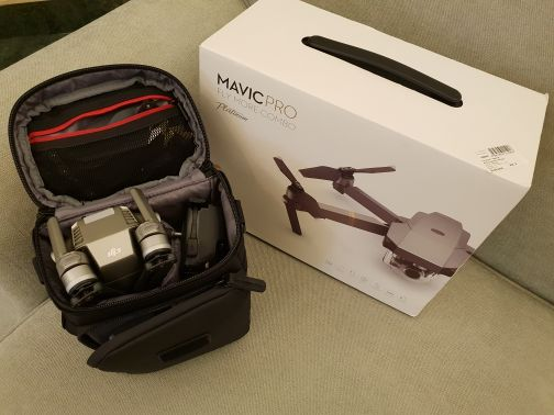 DJI Magic Pro Platinum Combo NEW
