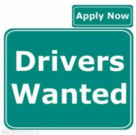 Driver wanted school drop&pick