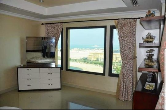 a fully furnished 2bedroom in porto Arab