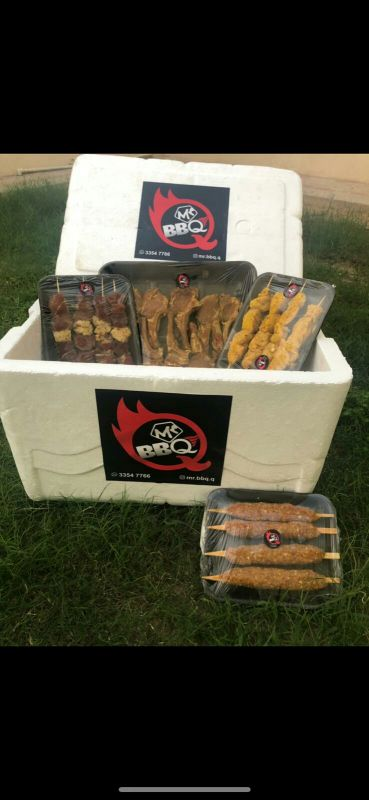 we sell marroniated BBQ packs
