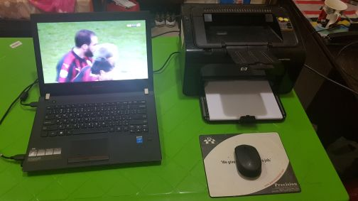 lenovo E40 laptop & Hp lazer printer