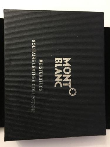 Mont Blanc wallet genuine leather
