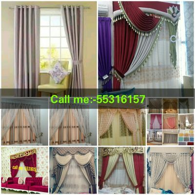 New Curtains Sale Making