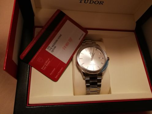 Tudor Rotor Self Winding brand new