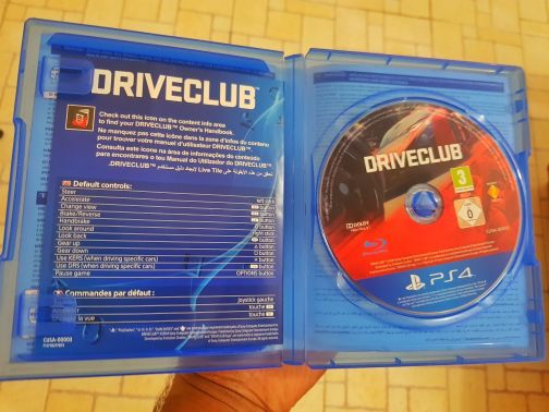 Drive club Ps4 ,90QR PlayStation 4