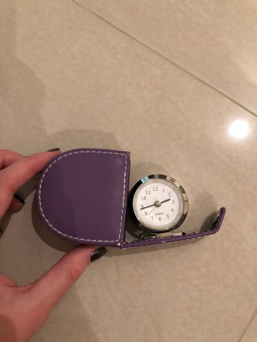 Mini travel size clock