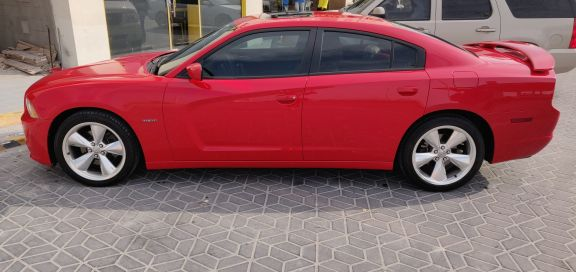 dodge charger R/T 2014 red