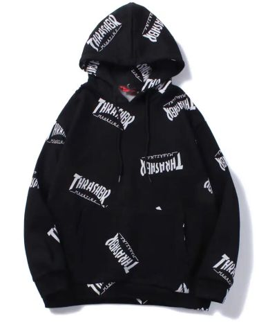 Men's high quality thrasherhoodie