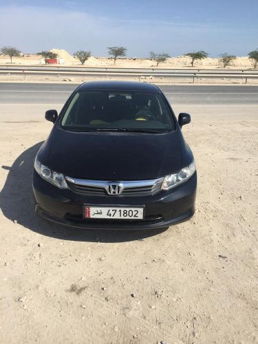Honda Civic 2012 black