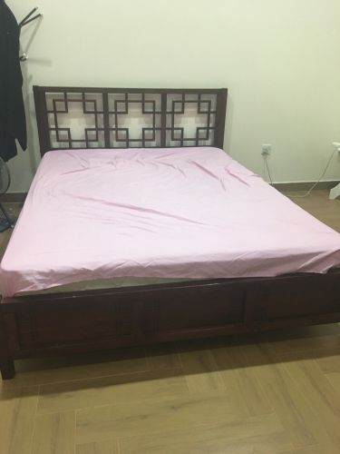 Home centre bed with mattress