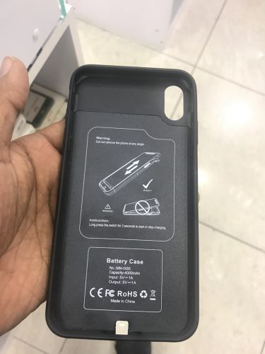 iPhone x battery cover