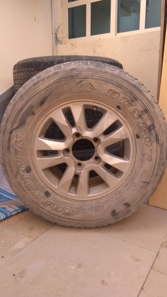 """Gxr 5 Rims with tyres 17"""" (2008-2015)"""