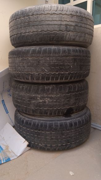 Gxr Dunlop 5tyres with rims 17""