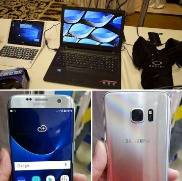 S7 edge Mobile free with slim laptop